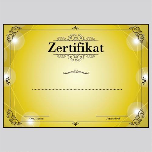 Zertifikat Berlin