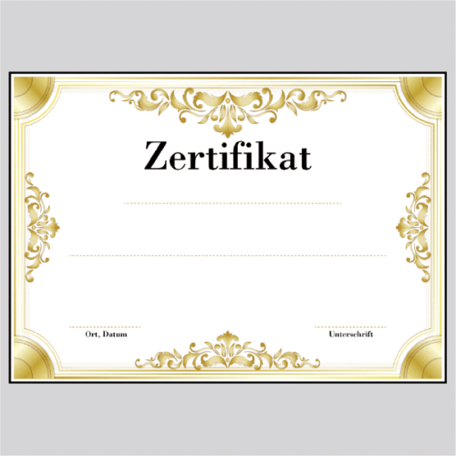 Zertifikat München