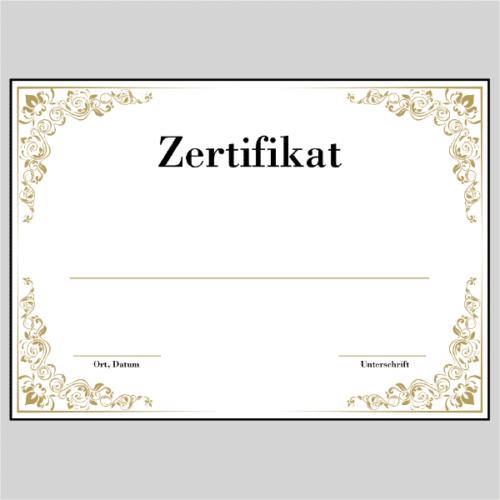 Zertifikat Köln