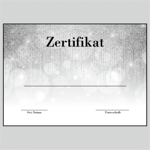 Zertifikat Wiesbaden