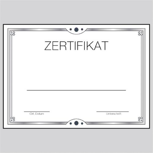 Zertifikat Bonn