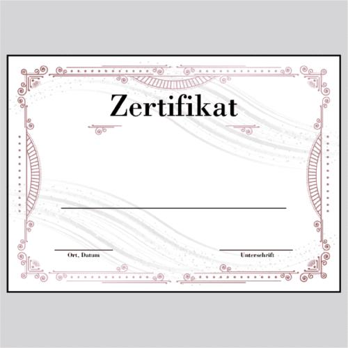 Zertifikat Stuttgart