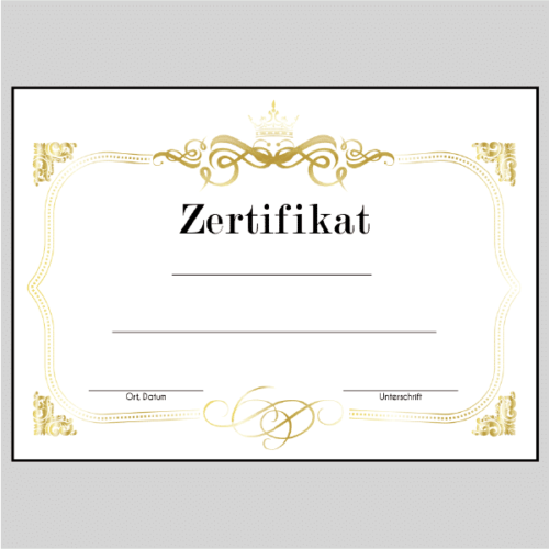 Zertifikat Leipzig