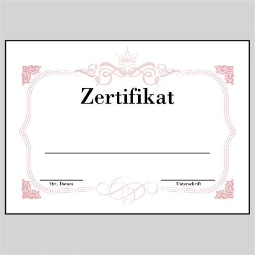 Zertifikat Dortmund