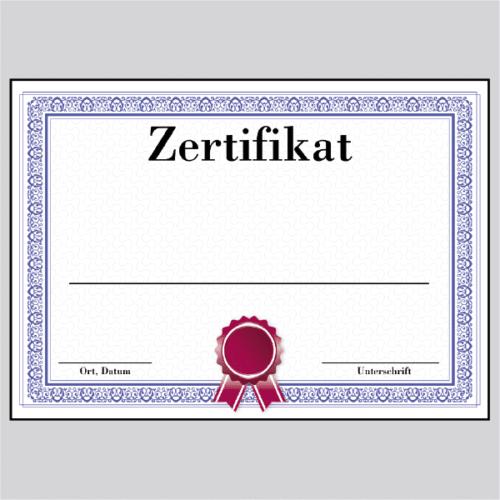 Zertifikat Hannover