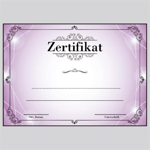 Zertifikat Bochum