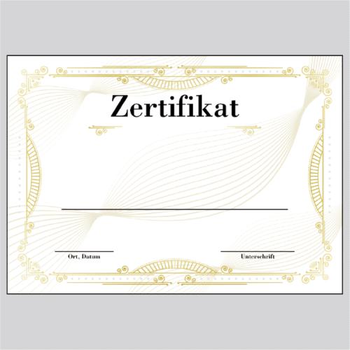 Zertifikat Bielefeld