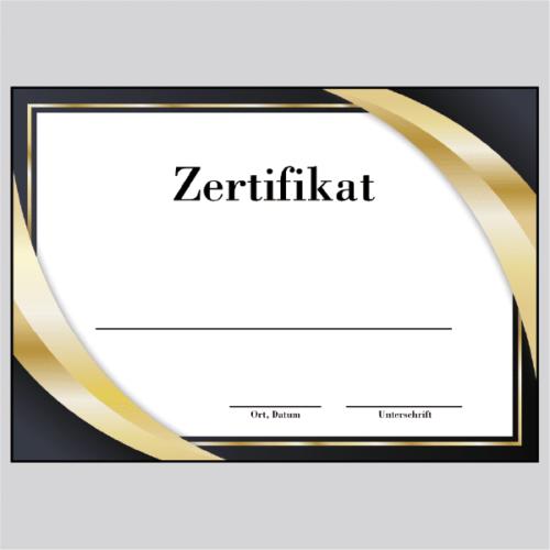 Zertifikat Mannheim