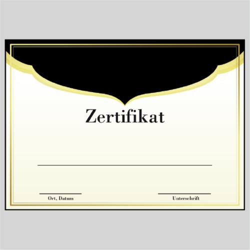 Zertifikat Augsburg
