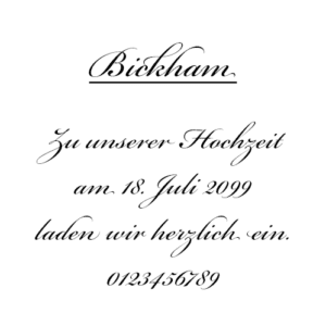 Bickham