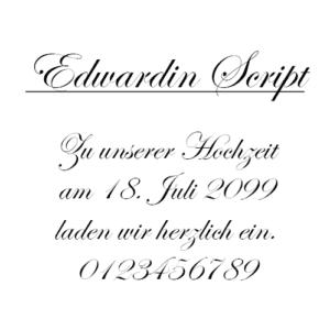 Edwardin Script