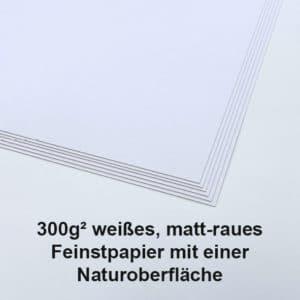300g Natur weiß