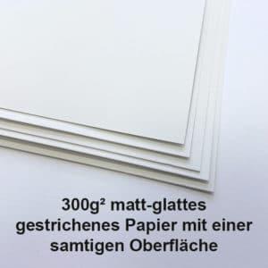 300g Matt