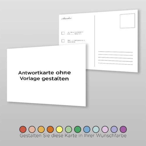Antwortkarte Blanco A6-2S