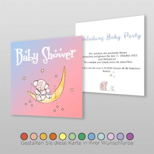 Babyparty Einladung Naila (2)