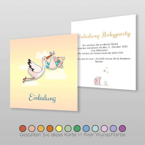 Babyparty Einladung Ula (1)