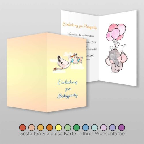 Babyparty Einladung Ula (3)