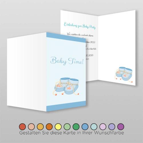 Babyparty Einladungskarte Arina (1)