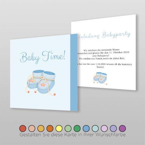 Babyparty Einladungskarte Arina (2)