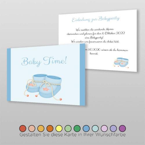 Babyparty Einladungskarte Arina (3)