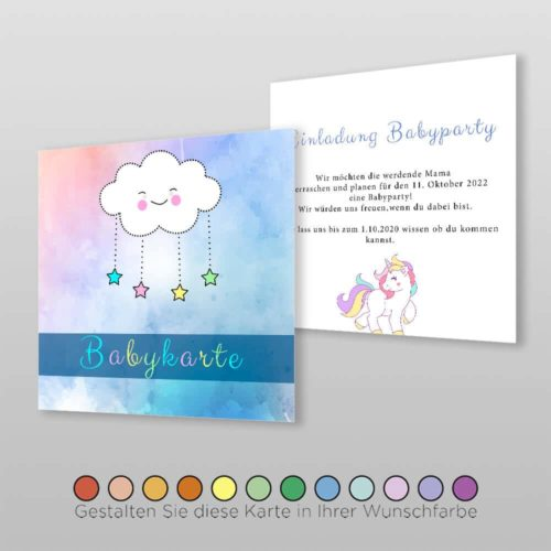 Babyparty Einladungskarte Catie (2)