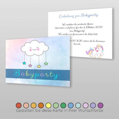 Einladungskarte Catie (3