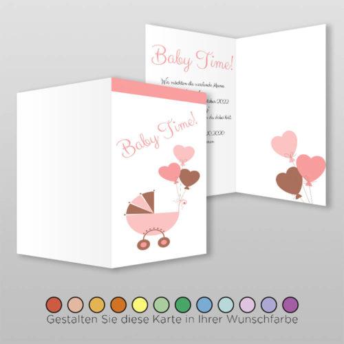 Babyparty Einladungskarte Ceyda (3)