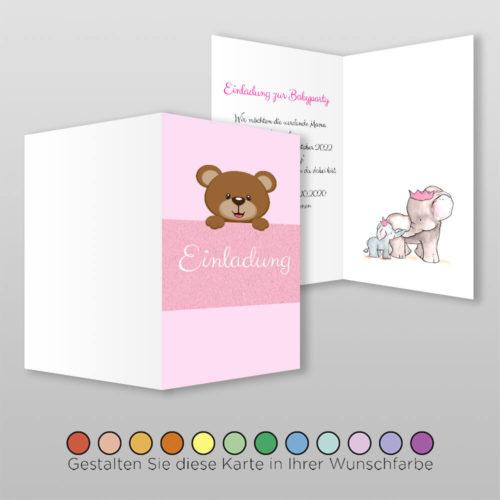 Babyparty Einladungskarte Liba (2)