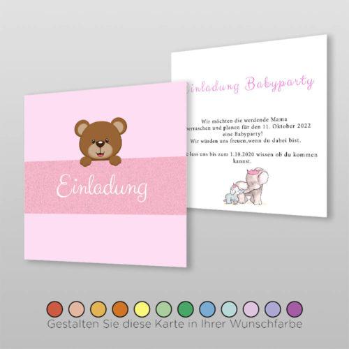 Babyparty Einladungskarte Liba (3)