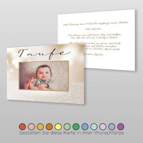 Babytaufkarte Dolores ( 1)