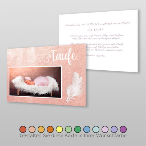 Babytaufkarte Doreen (2)