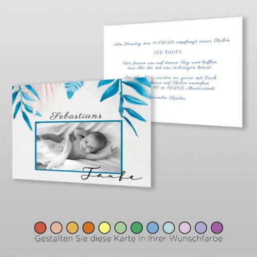 Babytaufkarte Lindi (2)