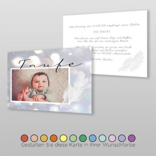 Babytaufkarte Vaira ( 2)
