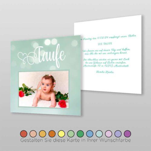 Babytaufkarte Valene (1)