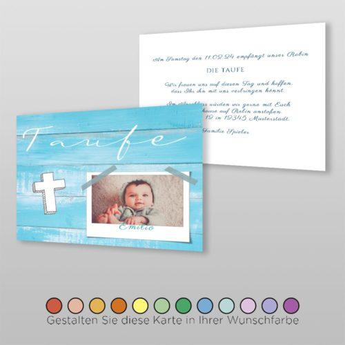 Babytaufkarte Viola (2)