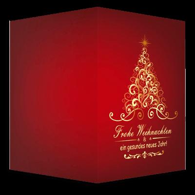 Banner Weihnachtskarte