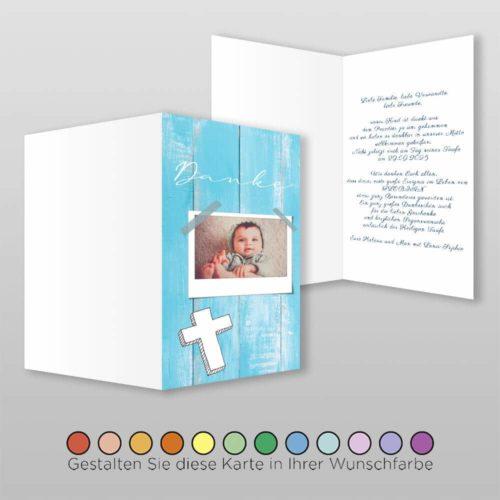 Danksagungskarte Taufe Viola (1)