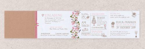 Einladungskarte Bebe 02