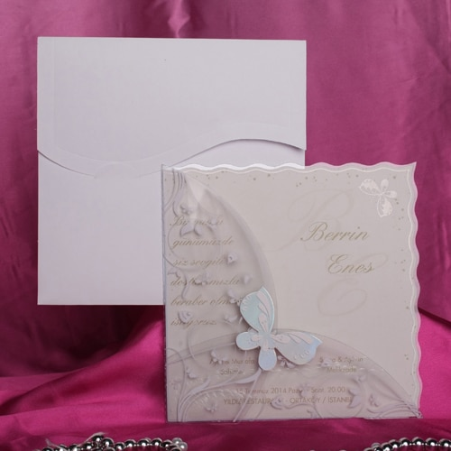 Einladungskarte Gerta
