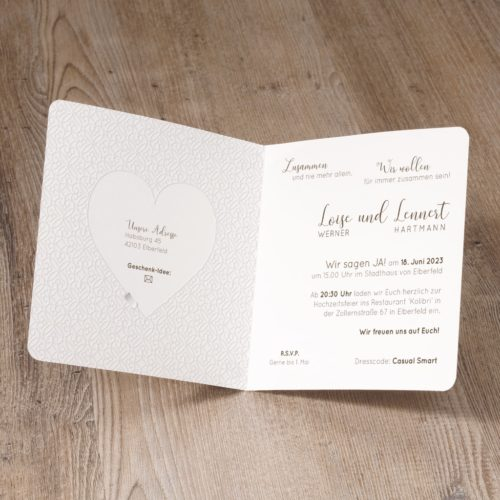 Einladungskarte Ingried 02