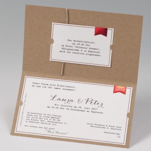 Einladungskarte Kyra 03