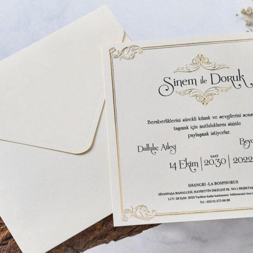 Einladungskarte Rowe