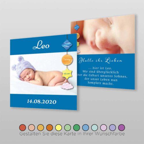 Geburtskarte Deny Q-2S