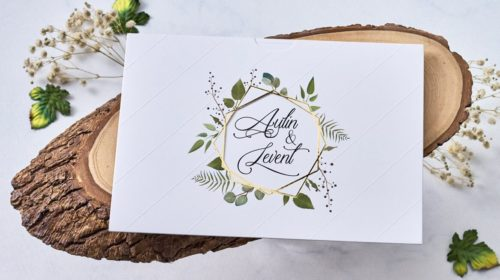 Hochzeitskarte Abina 02