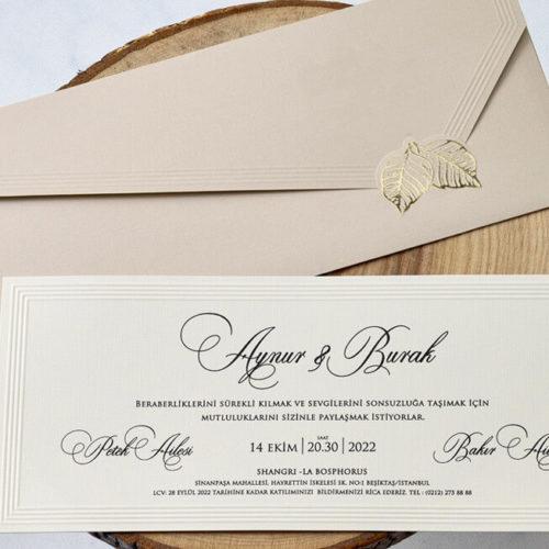 Hochzeitskarte Adria 01