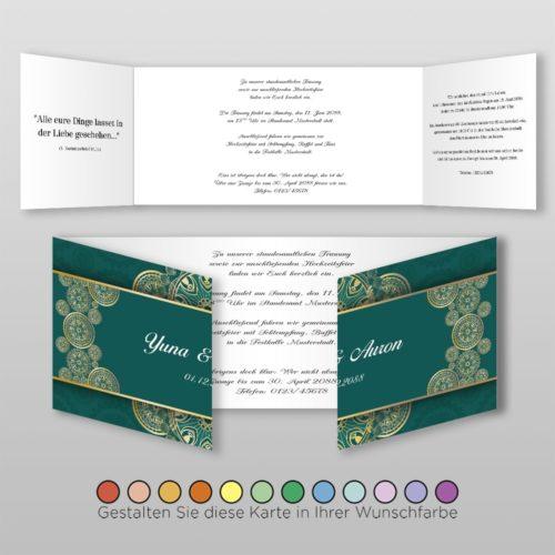 Hochzeitskarte Alisa D-6S