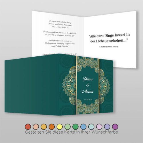 Hochzeitskarte Alisa Q-4S