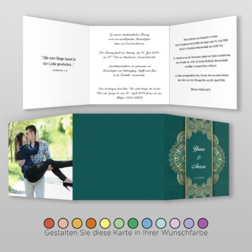 Hochzeitskarte Alisa Q-6S