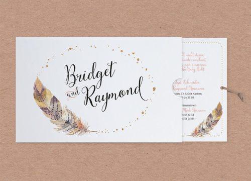 Hochzeitskarte Barry 02