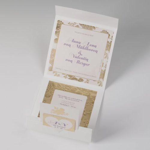 Hochzeitskarte Bernice 02
